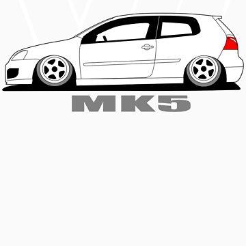 MKV Graphic Tee - dark color shirts by VolkWear