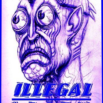 illegal alien by dgstudio