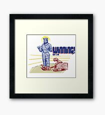 Winning! Genesis 3:15 Framed Print