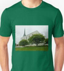 London Temple, near Lingfield, Surrey Unisex T-Shirt