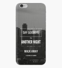 """5 Sekunden Sommer """"verschwenden Sie die Nacht"""" iphone Fall iPhone-Hülle & Cover"""
