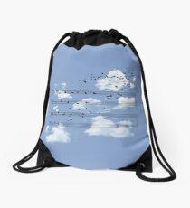 The Musical Notes Drawstring Bag