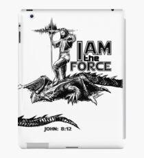 I AM the FORCE ! iPad Case/Skin