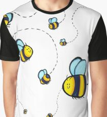 Bumble Pattern Graphic T-Shirt