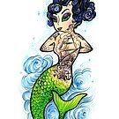 Crash Mermaid by crashartaustin