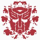 Autoblots (RED) by MightyRain