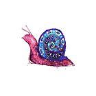 Trippy Snail by Victoria Swigart