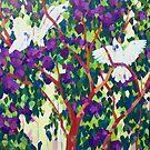 Cacatua Trio by Mellissa Read-Devine
