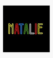 Natalie - Your Personalised Merchandise Photographic Print