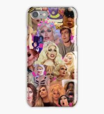 RuPaul Queens Collage iPhone Case/Skin