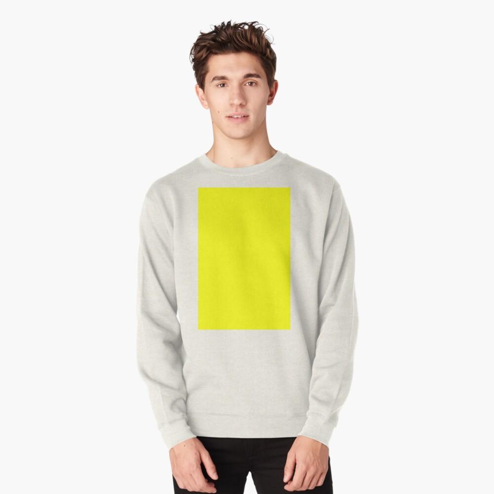 Neon fluorescent Yellow | Yellow|neon Yellow/Fluro Yellow Pullover Sweatshirt