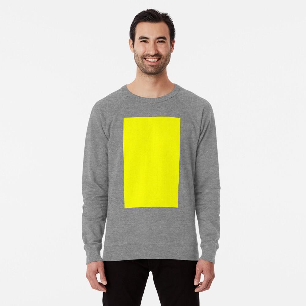 Neon fluorescent Yellow | Yellow|neon Yellow/Fluro Yellow Lightweight Sweatshirt