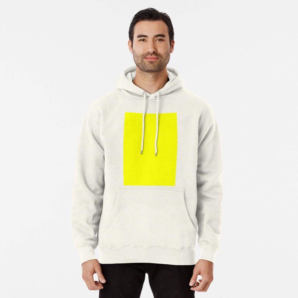 Neon fluorescent Yellow | Yellow|neon Yellow/Fluro Yellow Pullover Hoodie