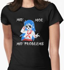 Mo Moe Mo Problems Womens Fitted T-Shirt