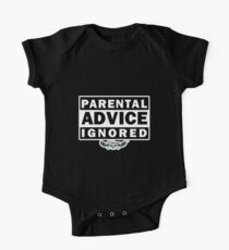 Parental Advice Ignored Kids Clothes