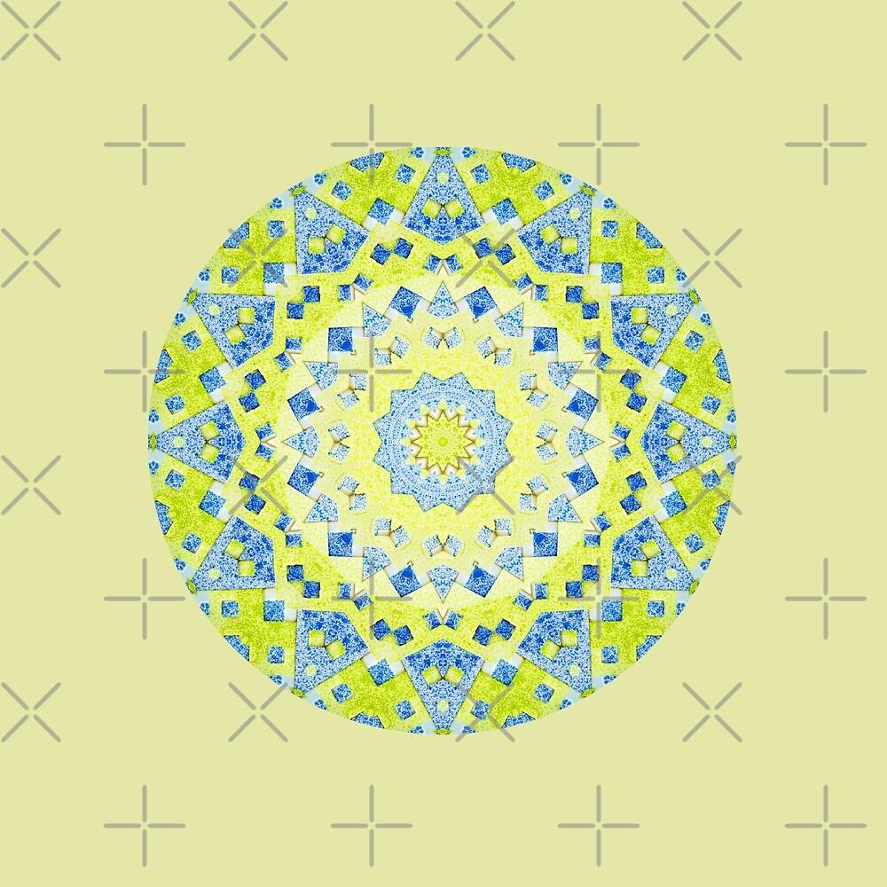 Tilted Order Circle Bright by Lori Kingston
