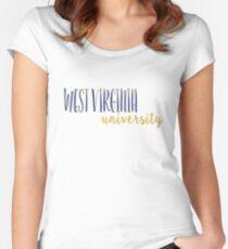 West Virginia University Women's Fitted Scoop T-Shirt