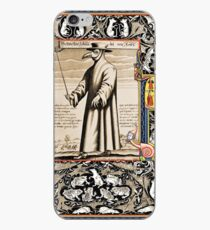 P is for Plague Doctor iPhone Case
