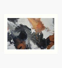 Mono Copper  Art Print