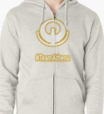 #TeamAthena (Saint Seiya) Zipped Hoodie