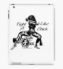 """Fight Like A Chick"" iPad Case/Skin"