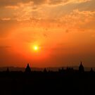 Sunset over Bagan by David McGilchrist