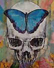 Butterfly Skull by Michael Creese
