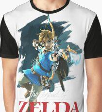 The Legend of Zelda: Breath of the Wild Artwork 3 Graphic T-Shirt