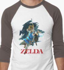 The Legend of Zelda: Breath of the Wild Artwork 3 Men's Baseball ¾ T-Shirt