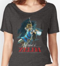 The Legend of Zelda: Breath of the Wild Artwork 3 Women's Relaxed Fit T-Shirt
