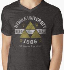 Hyrule University Men's V-Neck T-Shirt