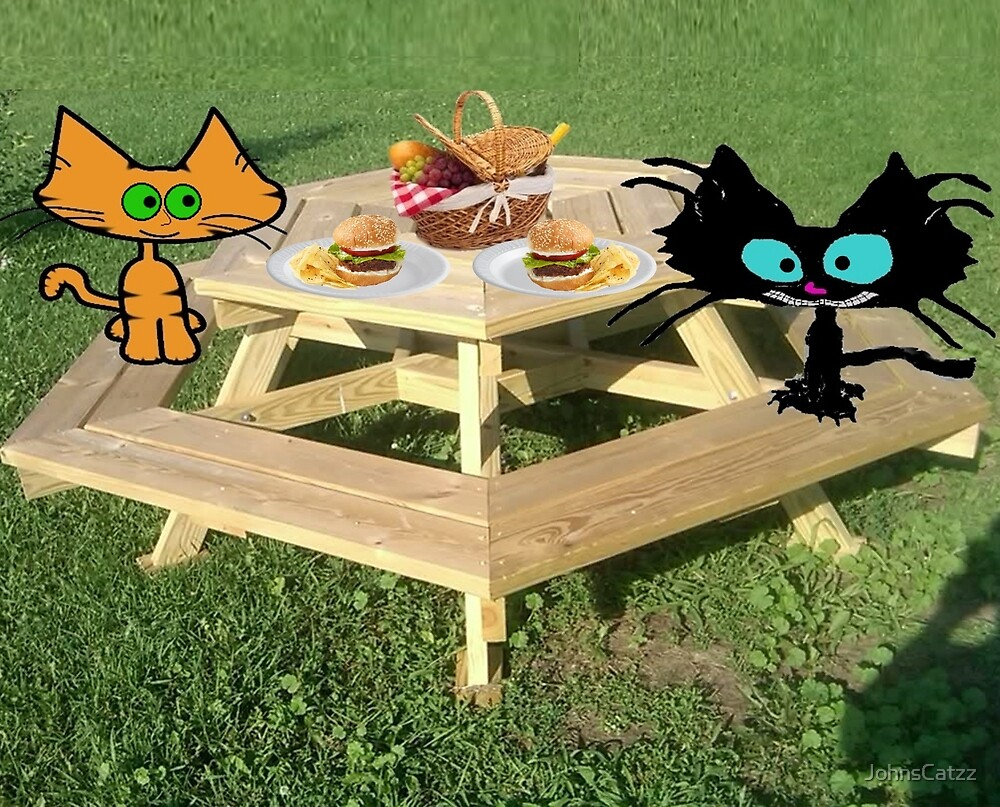 Cats Ready For A PicNic by JohnsCatzz