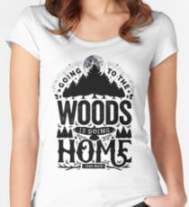 The Woods Women's Fitted Scoop T-Shirt