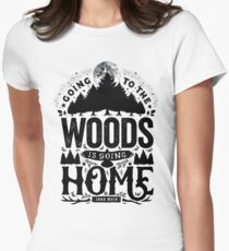 The Woods Women's Fitted T-Shirt