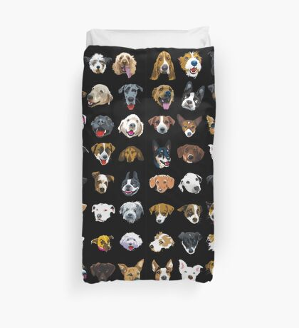 pooches Duvet Cover