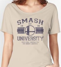 Smash University Women's Relaxed Fit T-Shirt