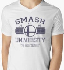 Smash University Men's V-Neck T-Shirt