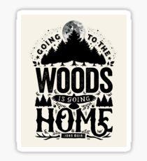 The Woods Sticker