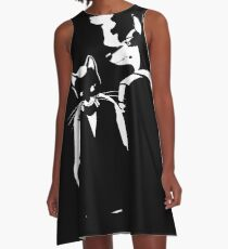 Lone Digger A-Line Dress