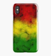 Rasta Watercolor  iPhone Case/Skin