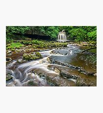West Burton Falls Yorkshire Dales Photographic Print