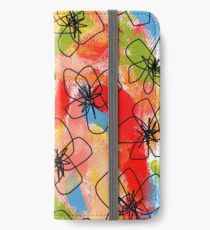 Hibiscus Family #1 by Lenna iPhone Wallet