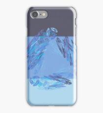 Blue filtered Fractal iPhone Case/Skin