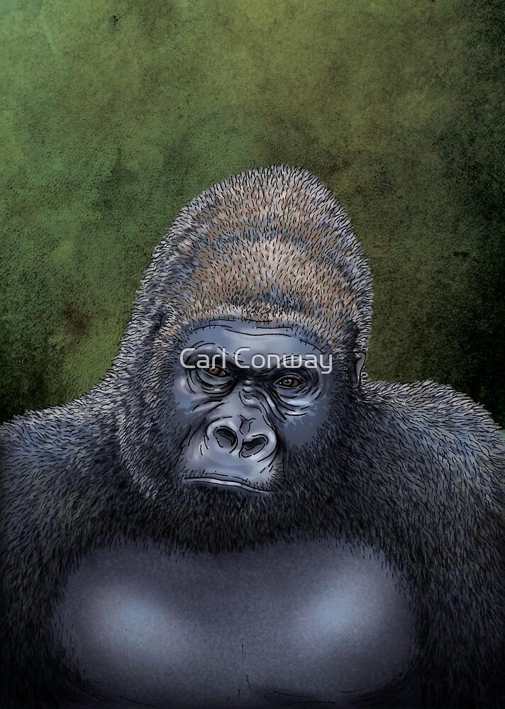 Endangered Gorilla by Carl Conway