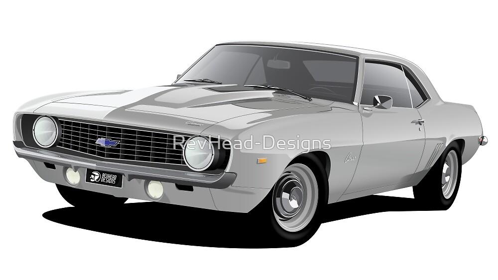 1969 Chevrolet Camaro - Silver by RevHead-Designs