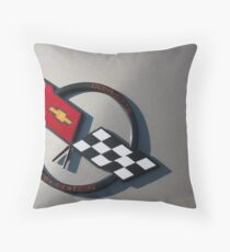 Corvette Collector Edition. Throw Pillow