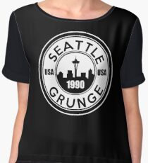 Seattle Grunge Chiffon Top