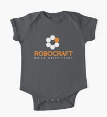 Robocraft Logo (White) Kids Clothes