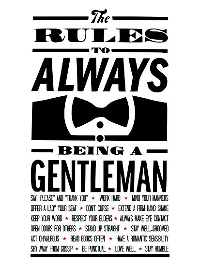 To be a Gentleman by musthaveitsfun