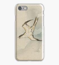Utagawa Kuniyoshi - Hototogisu. Bird painting: cute fowl, fly, wings, lucky, pets, wild life, animal, birds, little small, bird, nature iPhone Case/Skin